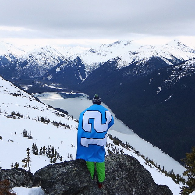 Lets go Hawks! Repping the 12th man in Whistler before the big game. ⠀ Contest: Name the team you think will win and guess the final score. The winner will receive one of our Seahawks themed 'Outdoors' beanie. Contest closes at kickoff (3:30pm PST)....