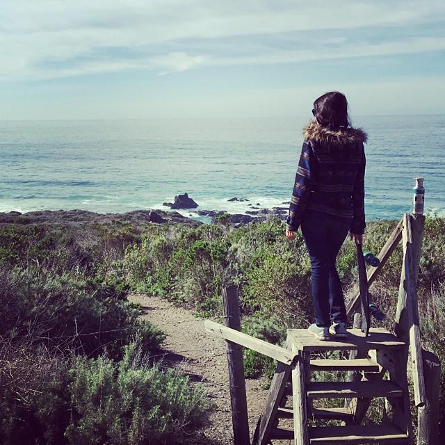Central coast exploring with @lucheeetah via The Minnow. #netstodecks #SimpleSundays