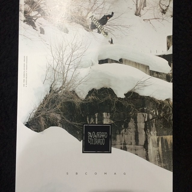 We are hyped to announce that @krocadil landed this Method grab on the cover of @sbcomag. Pick up a copy at your local #snowboard shop. #flux #snowboarding #fluxbindings
