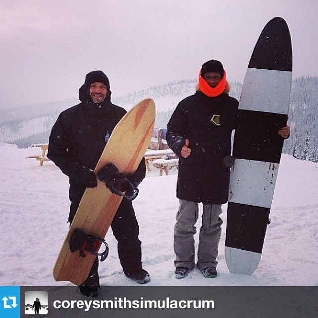 #neondazeandwinterwaves @coreysmithsimulacrum @mikeparillo get after it at Baldface Lodge with some very special equipment.