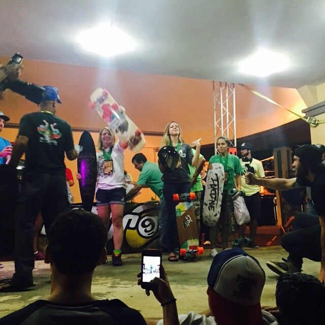 Women's podium, congrats @emilylongboards for coming to guajataka for the first time and killing it! 2nd place @spokywoky and 3rd @nayhomi27