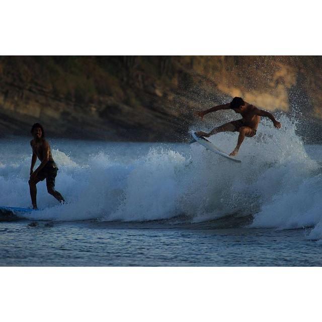 Los pibes se divierten. Maderas Beach, Nicaragua. #FreeSurfing