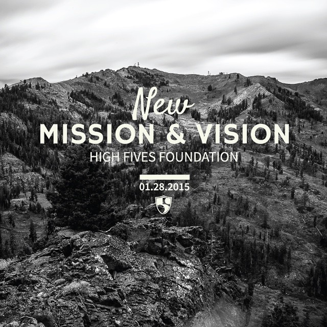 Rad news alert:  The @hi5sfoundation updated their mission & vision and will now be able to serve both the winter action and mountain action sports communities #HighFivesAthlete