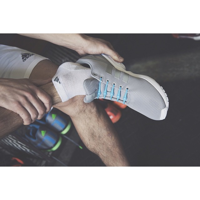 Never worry about the heels of your sneakers again. HICKIES allow for just enough expansion to get your foot into your sneaker without sacrificing the structure of your sneaker. #lacesoutHICKIESin #crossfit