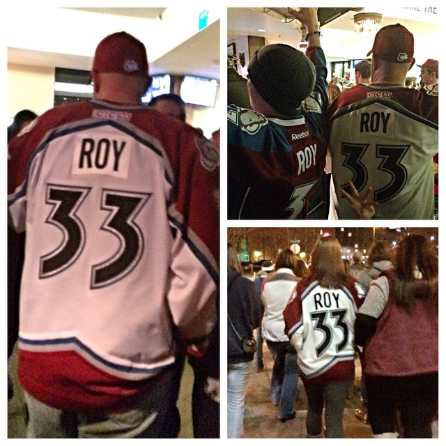 Everyone's a Roy fan in Denver! #sia15