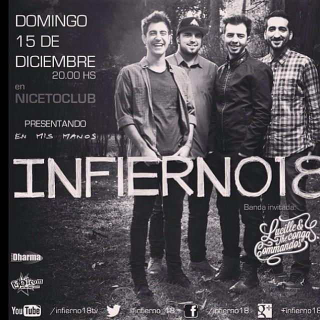 Mañana todos con @infierno18 !!! #Niceto #VolcomEnt #Infierno18