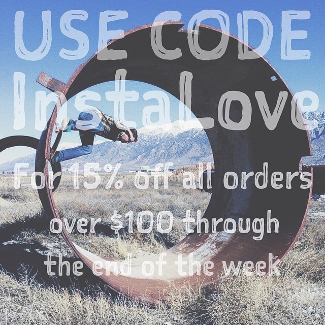 Just because we love you guys. Use code InstaLove for 15% off all orders over $100 through the end of the week. #SalemtownBoardCo #Skate #Skatelife
