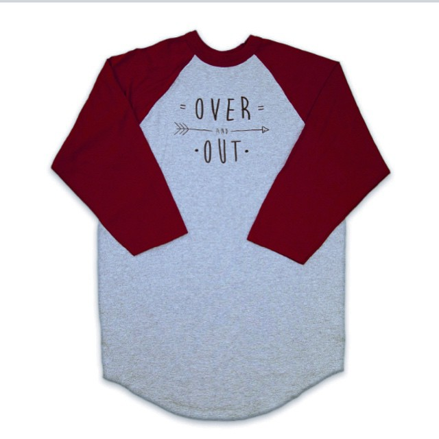 O V E R and O U T | #adventure #explore #getoutside #stayoutside  #baseballtee #stzlife