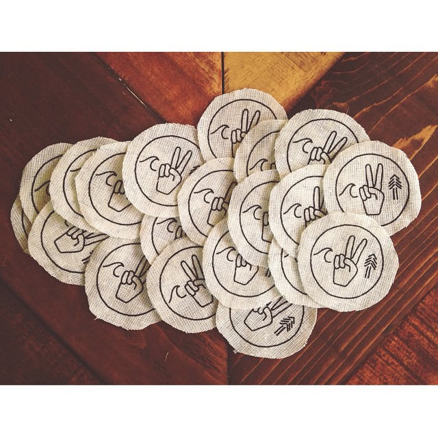 Stoked to get these patches back from our good buds @alchemyarchives