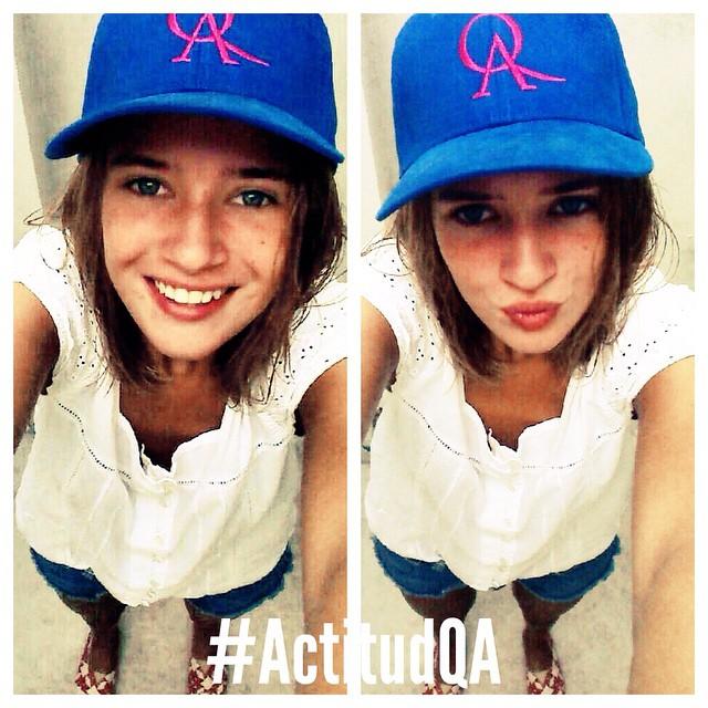 @clarijakob ya tiene #ActitudQA. Vos ya estás participando esta semana para ganar la tuya? #QuienSabedeActitud www.QA.com.ar