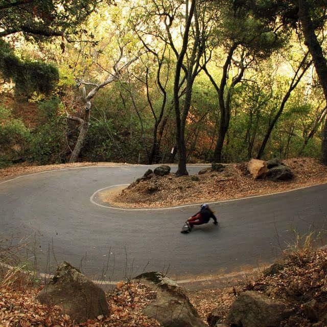 Our very own Bagel aka @skatebagels shot by Nick Li in Santa Barbara. She's  now travelling around Australia skating every road she finds. Have fun Rach!  #longboardgirlscrew #girlswhoshred #rachelbruskoff