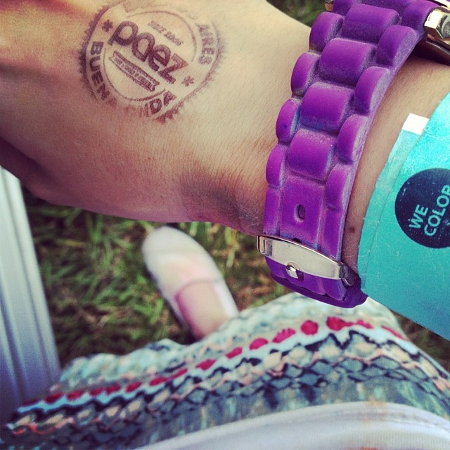 Paez & We Color  #festival #color #holi #paez #music #gooday #goodvibe #instamood #paezshoes #happy #fun