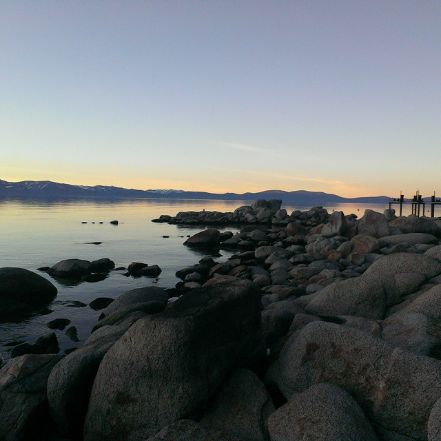 Just before the #sunset on the south shore of #tahoe tonight.  #tahoesunsets #lakes #beauty #nature #graniterocx