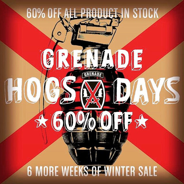 #PunxsutawneyPhil saw his shadow. It's going to be a long winter so gear up at www.grenadegloves.com for 60% off the entire site
