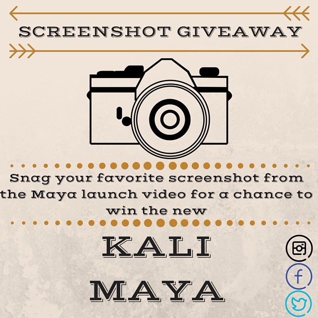 We are giving away one of our brand new Maya helmets! Enter your favorite snapshot from the Maya launch video for a chance to win http://s.heyo.com/786c38 #winamaya