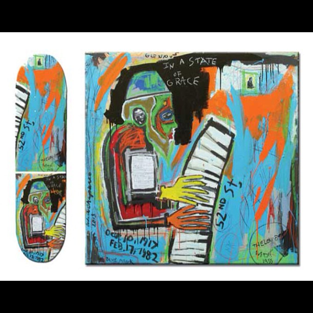 Another look at #TheloniousMonk by #andreschaparro  Please visit our website and get yourself a board worth hanging as art in your favorite room. Also 30% from each sale goes to help kids on the #autismspectrum in our SOS program follow us...