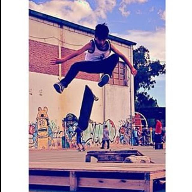#TBT 2011 Santi Rezza #TrueToThis @santirezza #Skate #Volcom