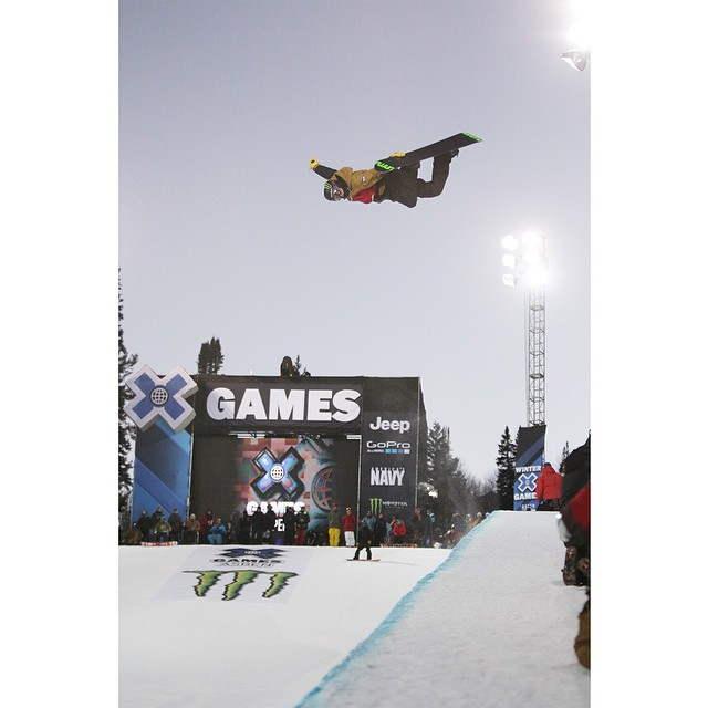 @taylor_gold turned up the amplitude at #XGames Aspen! (