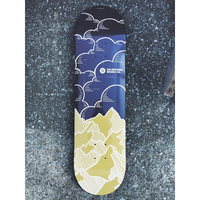 Check out the Ridgeline. Find it at @sixavenashville in Nashville or online at our website. #SalemtownBoardCo #Skate #skateeverydamnday #nashville