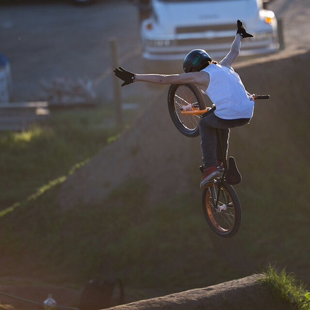 Here's another snap of @tryonbmx from his visit to the Post Office last weekend #RIPpostoffice