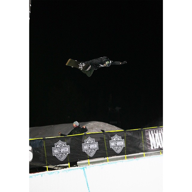 Less than two months after undergoing ankle surgery, @iouripodladtchikov earned #XGames Aspen Snowboard SuperPipe bronze!  Click the link on our profile page to check out his full run. (