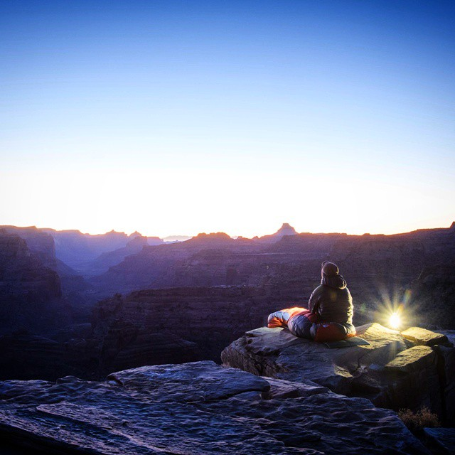A solitary sunrise with the Torch 250. #GetOutStayOut