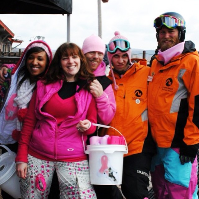 Where's your pink at? B4BC's Shred The Love at Camelback Mountain Resort in Pennsylvania is THIS SATURDAY! Get more info and check out all of our Shred The Love tour stops happening nationwide this winter season at www.b4bc.org/shredthelove!