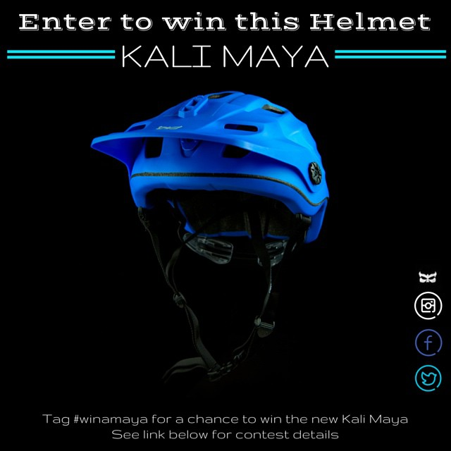 New year, new headgear! Enter for a chance to win the newest addition to the Kali line: the deep coverage Maya #winamaya | Details in the link on our profile.