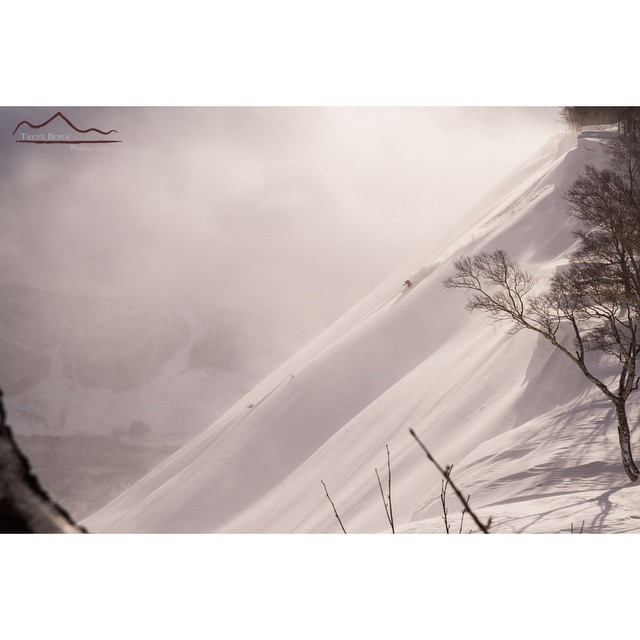 """We are now in the mountains and they are in us, kindling enthusiasm, making every nerve quiver, filling every pore and cell of us."" - John Muir  @benjamingoertzen in #Japan // captured by @trentbonaphoto 