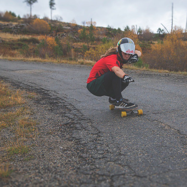 With style, that's how @dh_clbc rides his #restlessboards . photo by OldChild