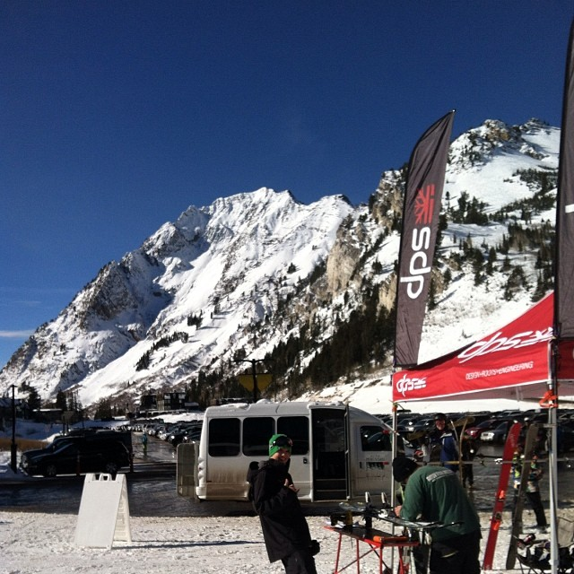 Great demo day @altaskiarea! Thanks to everyone who showed up for the sunny day of shredding.  #dpsskis