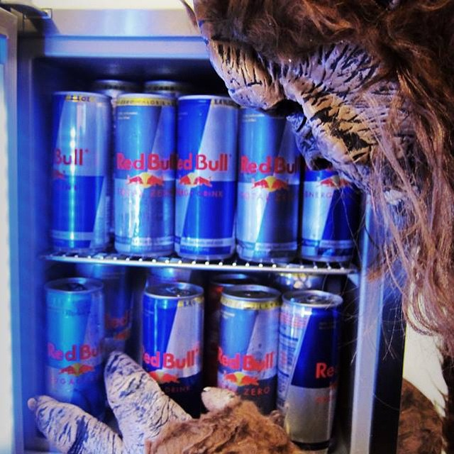 Sasquatch! What are you doing in our fridge?! *Monster Noises* Oh..I see…you say you have a @RBSoundSelect #Sasquatch2015 Presale? And if you really wanna go you click the link in our profile?