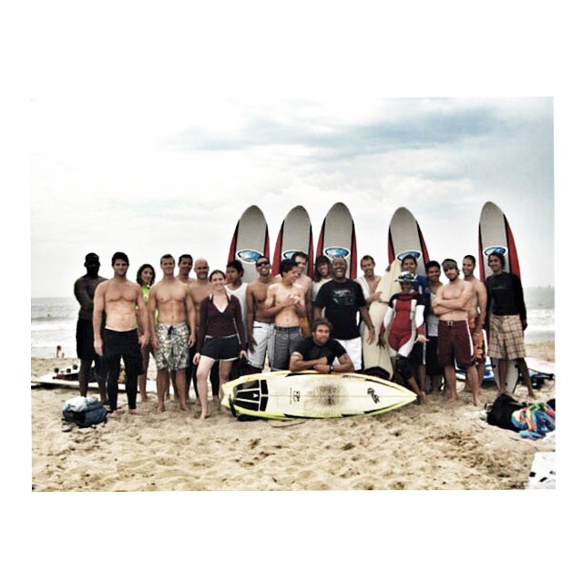 #tbt The first #surfmentor program in #stokedla in summer 2006. Kids +mentors+ boards in Santa Monica. Grateful for the support. Hundreds of kids helped since 2006. #STOKEDorg #actionsportschanginglives