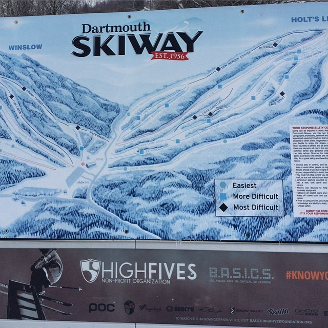 #knowyourpark // Showing up at the Dartmouth Ski Way