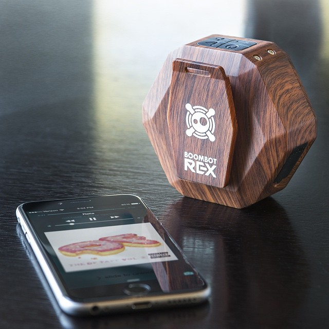 The 2015 Cherry Woodgrain REX is now available at boombotix.com