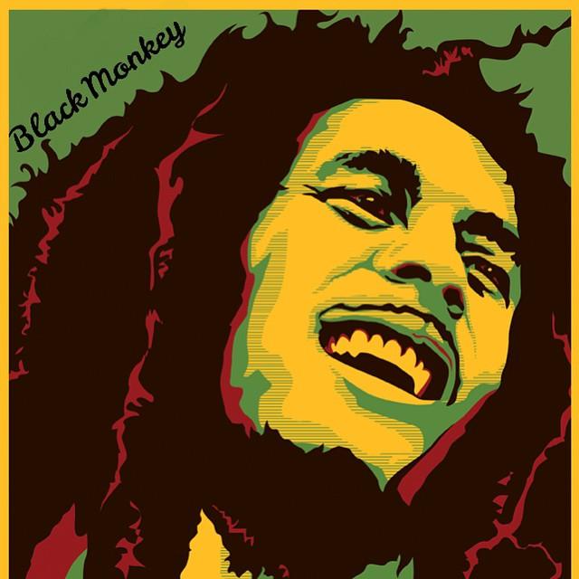 Happy B-Day Bob!!!! Hoy mas que nunca que suene tu música! #blackmonkey #alpargatas #bobmarley #bday #reggae #love #peace #music #blackmonkeystore #summertime #instafollow #friday #stylo #calzado