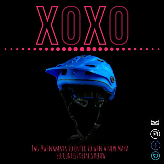 Give your sweetheart a sweet helmet. Enter for a chance to win the new Kali Maya. Link in bio #winamaya