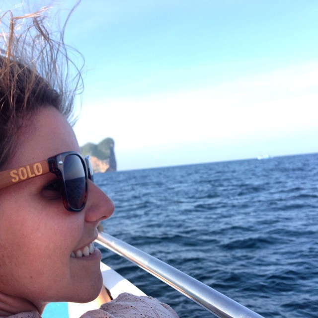 Sometimes you just need to hop on a boat and explore Thailand! #soloeyewear #bamboo #adventure #travel #sunglasses #missiontogive