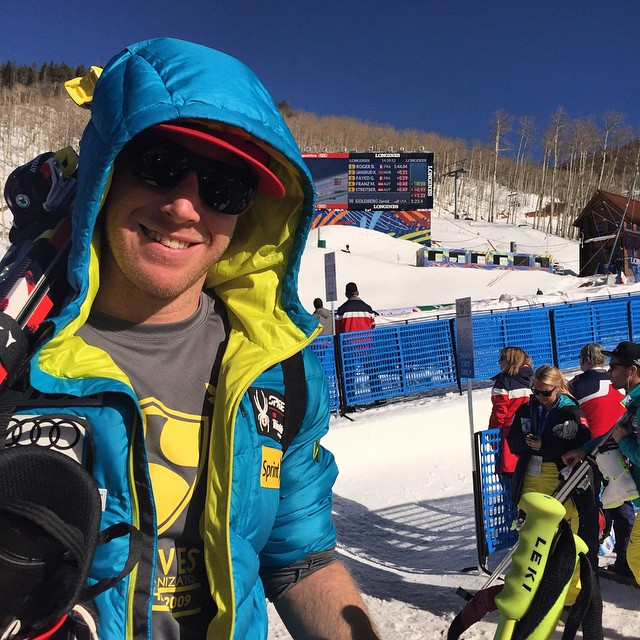 #reppingthe5 is @marcolikesit at World Champs at @beaverCREEK for #Worldchamps #Raptor15