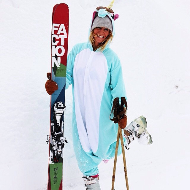 Sending high flyin' vibes to this li'l snow unicorn (Katrina DeVore), as she competes alongside fellow Panda Tribe member Tyson McDonald this weekend at Snowbird, on Stop No. 1 of the Subaru Freeride Series!  Starting Sunday 8AM MST, make sure to check...
