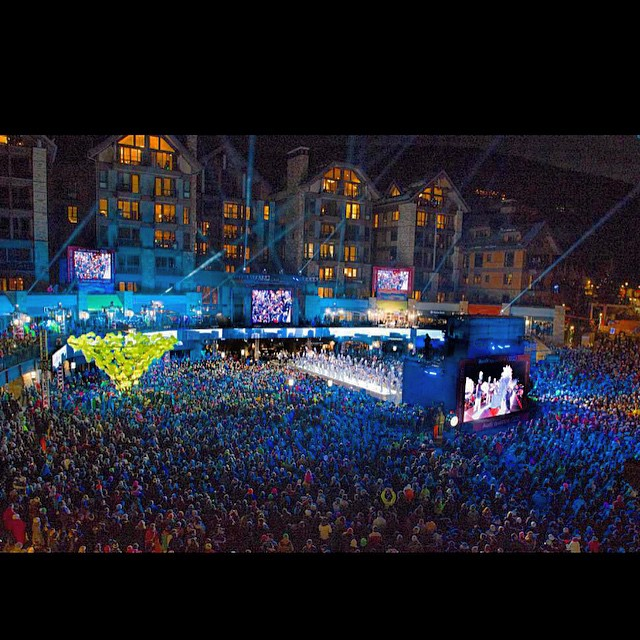 A great shot of the 2015 World Championships Opening Ceremony in Vail Village!  What an unreal experience this is for our town, brand, and ski racing!