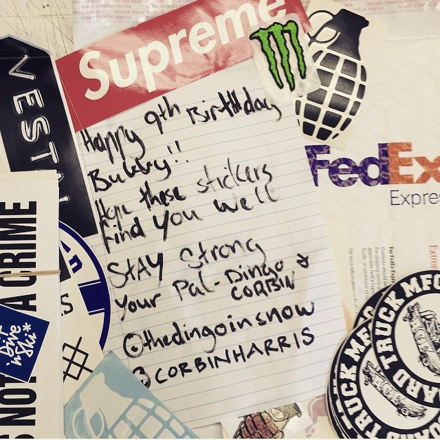 #bubbyeverson just turned 9 and is terminally ill. All he wants is mail and stickers.  You can write to him too:  Bubby Everson P.O. Box 1142 Graham, WA 98338