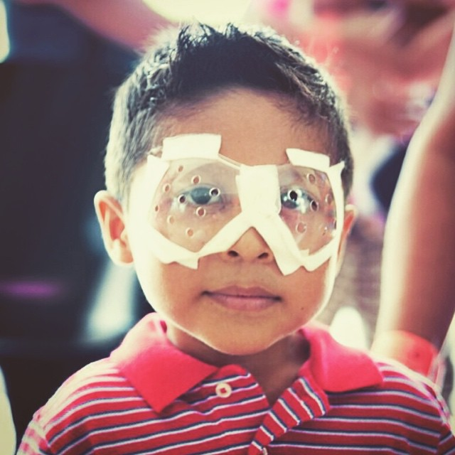 Thanks to your help, Angel can see again #givesight #seeinternational #waveborn