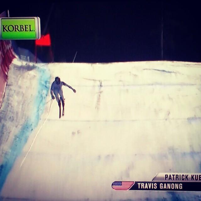 Congrats to @travisganong for winning the silver at @beavercreek #greatstuff #USA #downhill #skiing #graniterocx