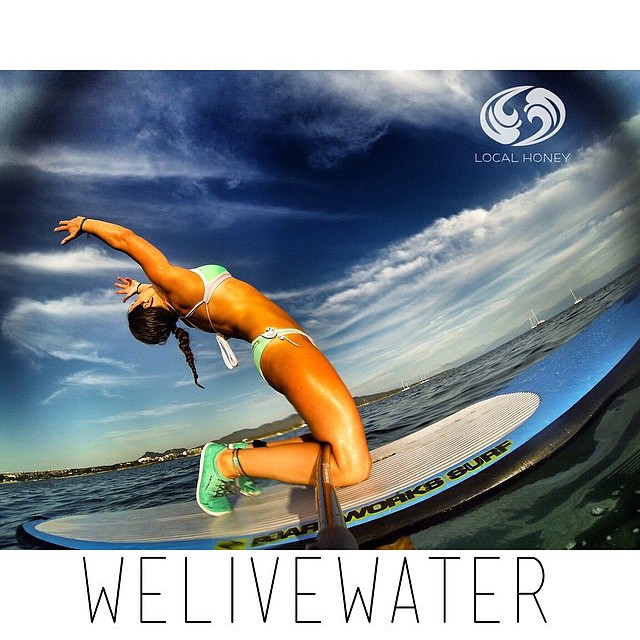@nautilussup getting bendy in Punta de Mita Mexico on one of @waveofwellness amazing SUP/Surf/Spearfish and Yoga  expeditions. Safe travels @nautilussup @waveofwellness!