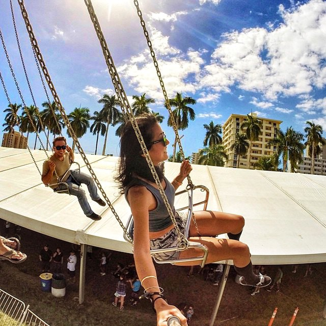 @jishigamiii rocks North Shore on the swings! • Today is #SelfieSunday! Throw on your Kameleonz & start tagging us in your pics! We'll choose 1 lucky person to win any Triple Set! #Kameleonz #kzwear #EnjoyTheRide #GoPro #GoPole #VentureHawaii...