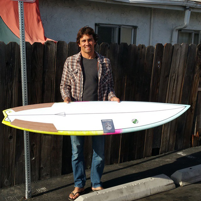 He may be famous for riding big guns, but Greg loves riding shortboards just like the rest of us. Greg is stoked on getting his new #ecoboard made with Super Sap resin and Marko recycled EPS, glassed by the resin wizards at E-Tech Boards. This board...