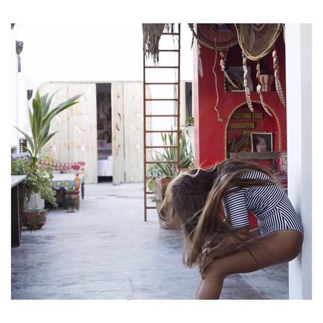 @lolamignot at home in Sayulita more on the blog. Pic by @_lucrecia_  #myseealife #seeainsayulita
