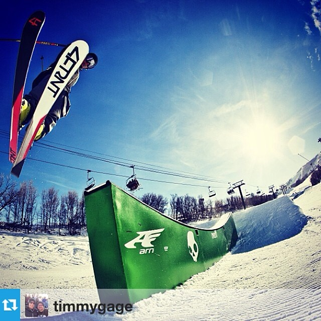 #Repost from @timmygage with a Switchblade beauty from @irideparkcity today. PC | @rocmaloneyphoto