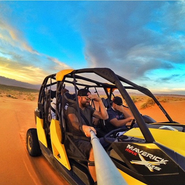 @ducpower89 sports Coconut while racing through the desert! #Kameleonz #EnjoyTheRide #gopro #gopole #utahgram #utah #sky #sand #sandhollow #SelfieSunday #igersstg #wowutah #utah #utahgram #utahisrad